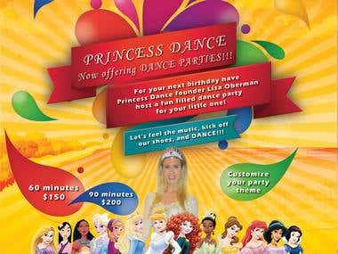 Princes Dance Logo Design