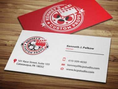 Custom Prop Business Cards