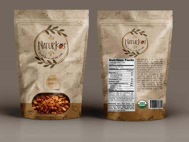 NaturKos Package Designs