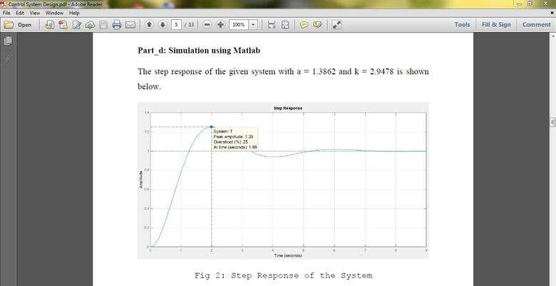 Control System Design Using Matlab Pdf