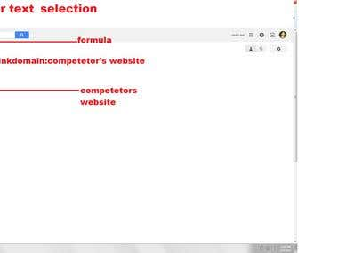 Demo project of Google Top Ranking