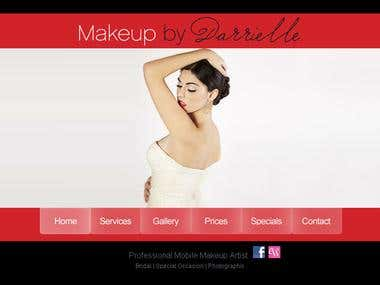 Webproject - Makeup by Darrielle