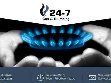24/7 Gas & Plumbing Website