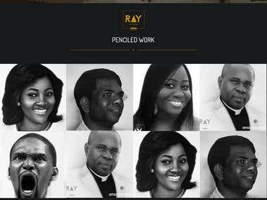 Website Design for Ray Styles