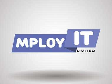 """Logo for \""""MPLOY IT\"""""""