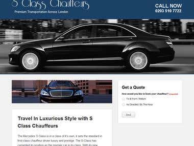 Taxi/Chauffeur Websites