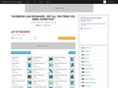 Reward links exchange