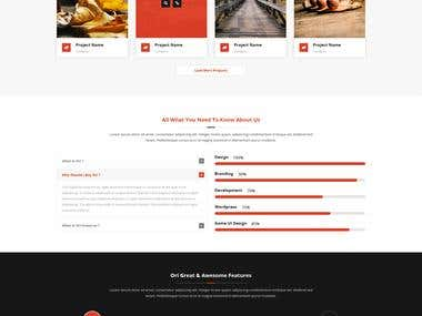Ori – Multi-purpose Business HTML Template