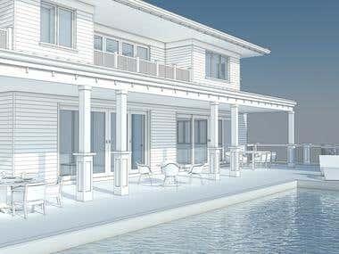 Visualization of the Villa