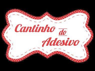Desenvolvimento de Logo para empresa Cantinho do Adesivo