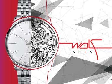 Wolf Asia ( Brochure Design)