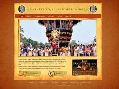 Temple Website