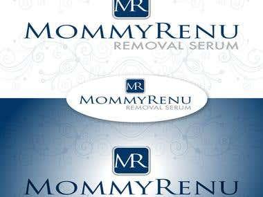 Logo for MommyRenu - removal serum