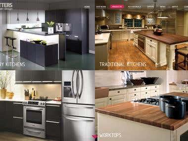KitchenMatters   website design and development