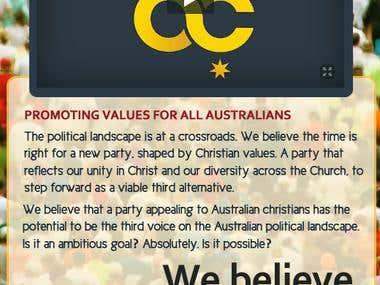 Facebook Page Design - Australian Christians