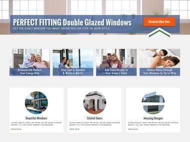 Custom Website Design for Window & Door Company