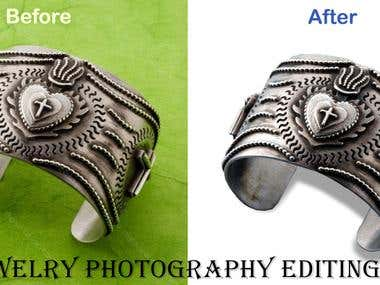 Jewelry Photography Editing