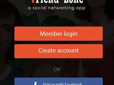 Friend Zone Tinder app Clone