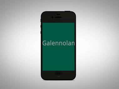 I phone app demo video