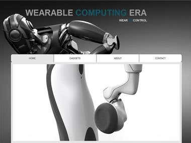 Wearable Computing Website