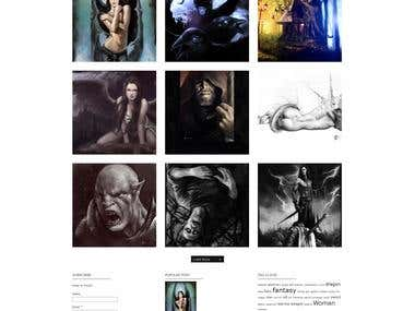Tiziana Federica Ruiu Portfolio Website