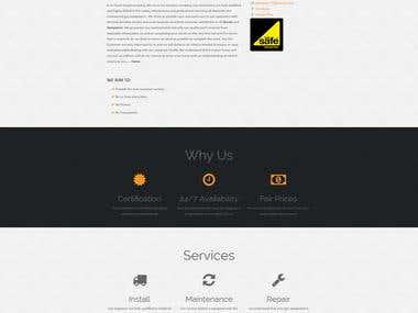 Unique Gas Ltd Website