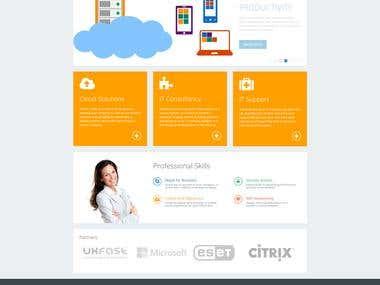 Cube Technology IT Services Ltd Website