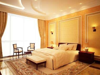 Private Apartment. Bed Room. KSA