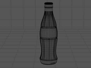 3D Coca-Cola
