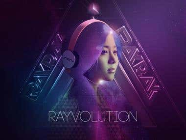 CD cover for DJ RayRay