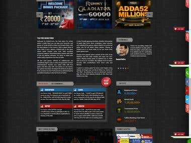 Rummy & Games site