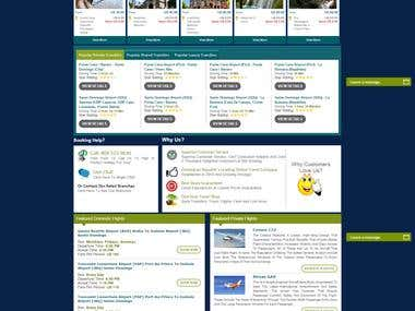 Tours and Travel site