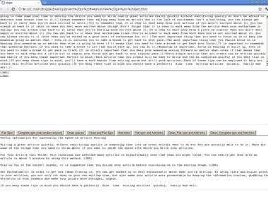 Javascript text manipulation
