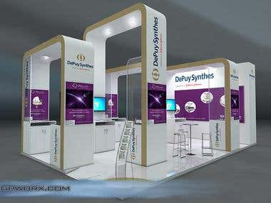 Stand design for congress