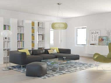 3d max and interior designer