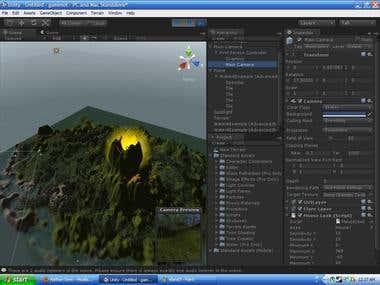 Unity3d Island