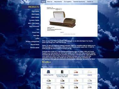Joomla catelog website