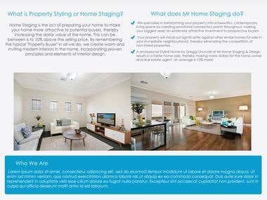 Property Styling Website