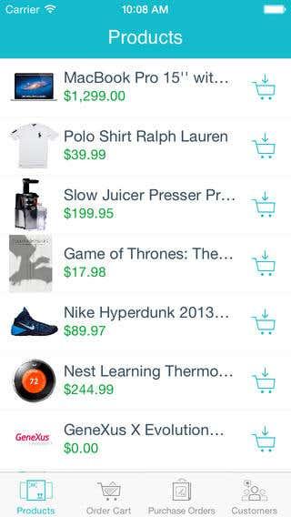 Sales Order (iOS)