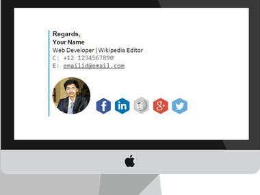 Responsive Email Signature