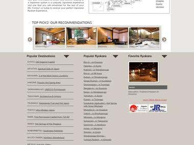 Built and maintained JapanGuestHouses.com