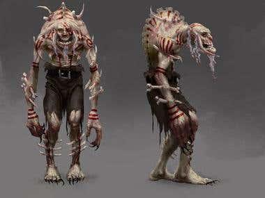 Ghoul leader