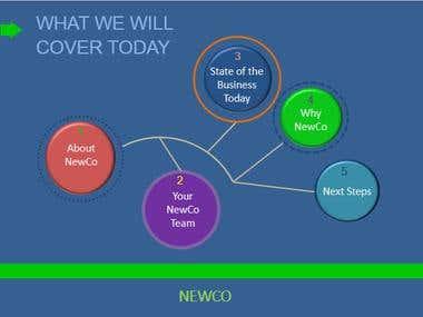 NewCo Agenda