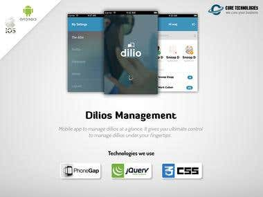 Dilios Management App