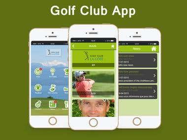 Golf Club App