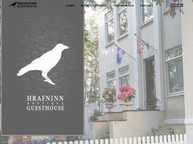Hrafninn Website