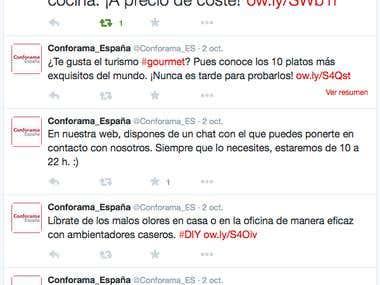 Community Manager de Conforama España