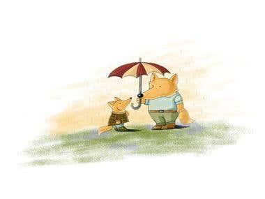 Kid\'s book illustration
