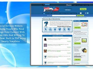 Social Services Website