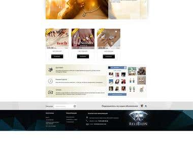 Web design Internet Shoping